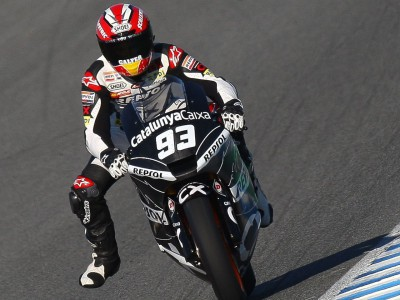 The private Moto2 Test in Jerez ends