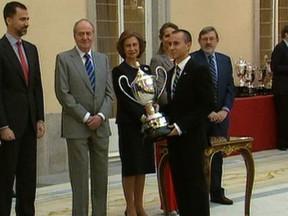 Lorenzo y Márquez recogen sus Premios Nacionales del Deporte 2010