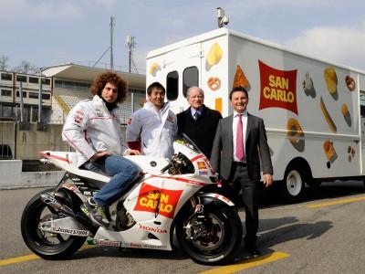 San Carlo Honda Gresini Team Präsentation in Monza