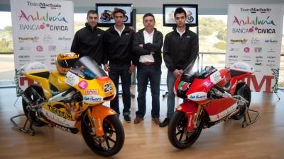 El Team Andalucía Banca Cívica presentó su estructura para 2011