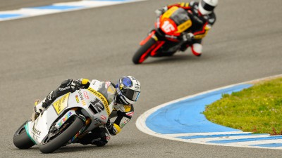 Rain minimises Friday afternoon activity at Jerez