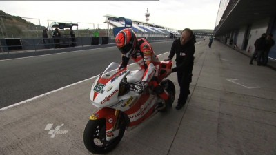 Bradl signs off from Jerez Test as fastest
