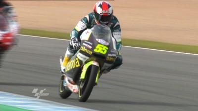 Faubel, por delante de Terol en el cierre de Jerez