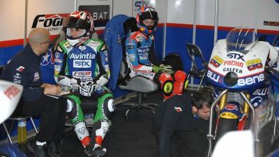 Los pilotos del equipo Blusens-STX siguen con su adaptación a las FTR