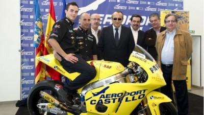 El Team Aeroport de Castelló a punto para afrontar el reto de Moto2