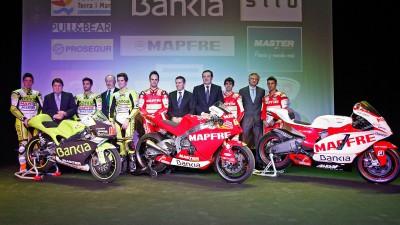 La struttura 2011 del team Aspar