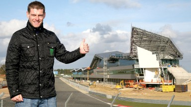 """Crutchlow impressed by """"spectacular"""" Silverstone Wing"""