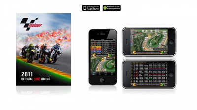Live Audio Commentary now available on the Official 2011 MotoGP Live Timing App