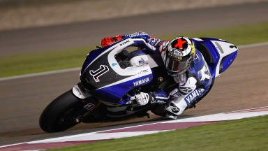 Lorenzo pleased with first session