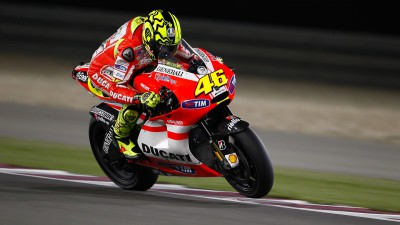 Rossi satisfied with Qatar progress and shoulder
