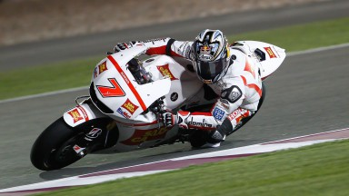 Aoyama on the pace, Simoncelli pushing hard