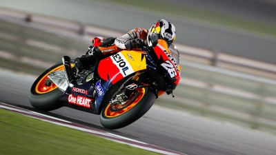 Pedrosa at the front as day two passes halfway