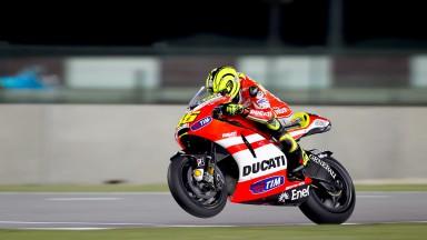 Último dia complicado para Rossi