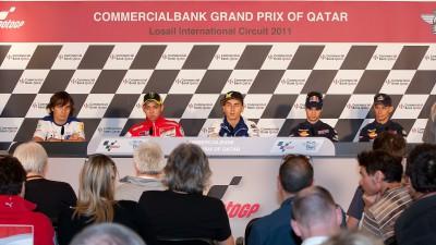 Grand Prix Commercialbank du Qatar : La conférence de presse