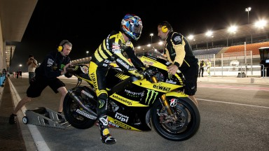 Edwards and Crutchlow satisfied with early pace