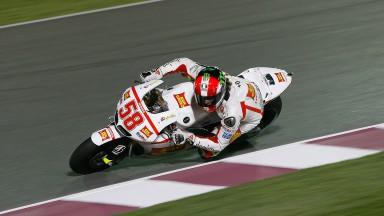 Simoncelli shines in Qatar FP1