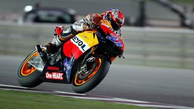 Stoner destaca-se na FP3 de MotoGP