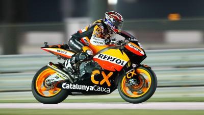 Márquez, segundo, confirma su buen nivel en Moto2