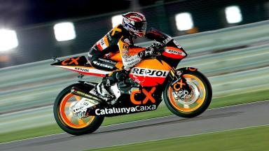 Márquez estrena la temporada con una 2º posición en la sesión clasificatoria