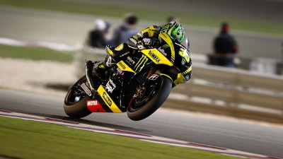Crutchlow qualifies eighth for MotoGP debut, Edwards tenth