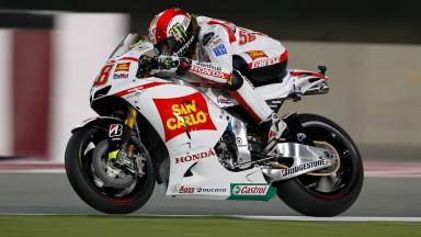 """Simoncelli, encantado con su """"mejor carrera en MotoGP"""""""