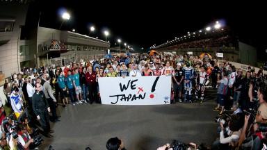 MotoGP gemeinsam für Japan