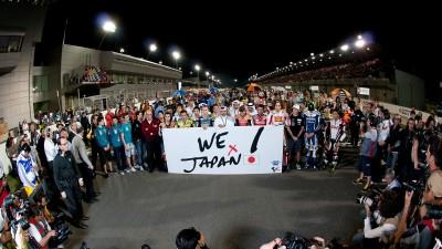 Le MotoGP se mobilise pour soutenir le Japon