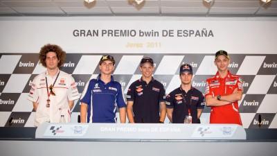 Fahrer freuen sich auf den Europa-Auftakt in Jerez