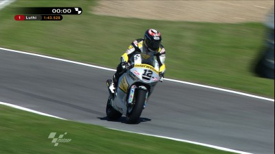 Takahashi tops the timesheets in FP2, Luthi fastest overall