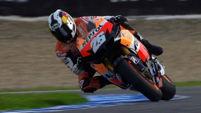 Pedrosa holds the momentum ahead of qualifying