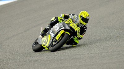 Iannone en tête du warm-up Moto2 à Jerez