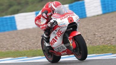 Barberá logra su mejor resultado en MotoGP