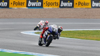 Lorenzo wins whilst Spies crashes out