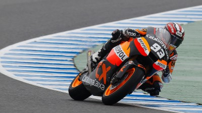 """Márquez: """"En Moto2 tienes que vigilar con los demás"""""""