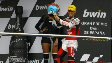 First career podium for Zarco