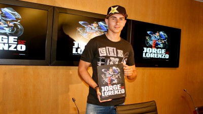Lorenzo presents new book in Barcelona