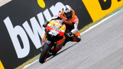 Front two rows for Repsol Honda trio