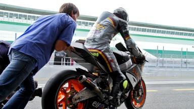 シューターが2012年型MotoGPマシンをテスト
