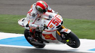 Simoncelli, con la moral recuperada ante la cita de Le Mans