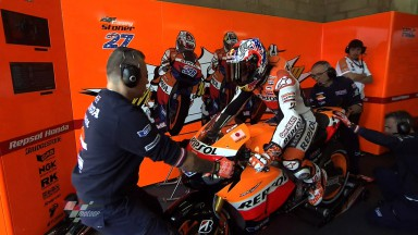 Stoner mantém-se na frente em FP2 em Le Mans