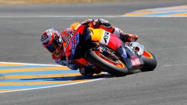 Repsol Honda trio positive after dominant start to Friday