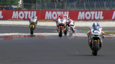Corsi pasa al frente en la FP3 de Francia
