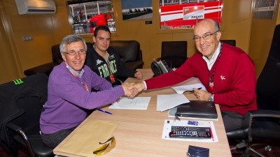 Dorna Sports and Claude Michy agree on French Grand Prix extension until 2016