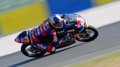 Folger signe le meilleur temps du warm-up 125cc au Mans