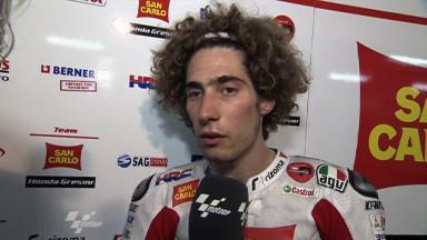 Simoncelli defiende su actuación en el incidente con Pedrosa