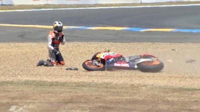 MotoGPライダーたちがアクシデントに意見