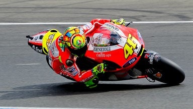 Rossi and Hayden inspired for Catalunya