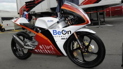 BeOn presents Moto3 prototype at Montmeló