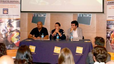 Dovizioso presenta el Campeonato Repsol del videojuego MotoGP