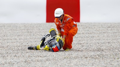 Edwards injured in Catalunya